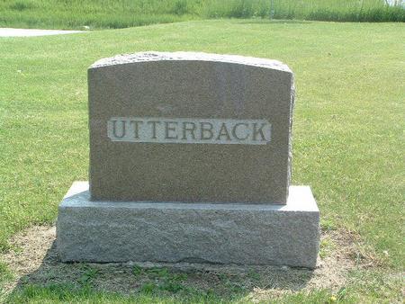 UTTERBACK,  - Mills County, Iowa |  UTTERBACK