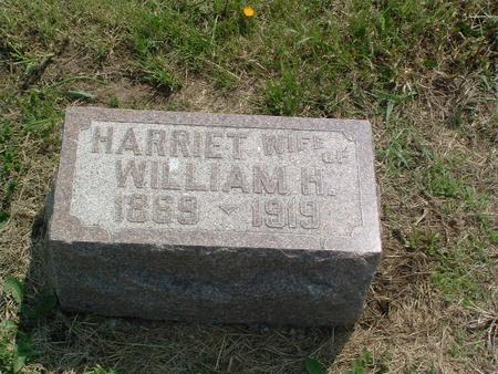 UTTERBACK, HARRIET - Mills County, Iowa | HARRIET UTTERBACK