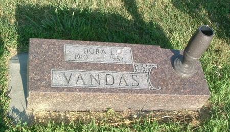 VANDAS, DORA E. - Mills County, Iowa | DORA E. VANDAS