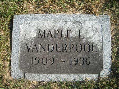 VANDERPOOL, MAPLE L. - Mills County, Iowa | MAPLE L. VANDERPOOL