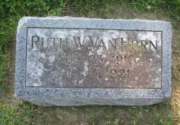VANHORN, RUTH W. - Mills County, Iowa | RUTH W. VANHORN