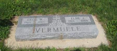 VERMUELE, CECIL W. - Mills County, Iowa | CECIL W. VERMUELE