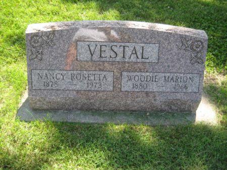 VESTAL, NANCY ROSETTA - Mills County, Iowa   NANCY ROSETTA VESTAL