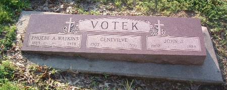 VOTEK, PHOEBE A. - Mills County, Iowa | PHOEBE A. VOTEK