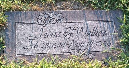 WALKER, IRENE B. - Mills County, Iowa | IRENE B. WALKER