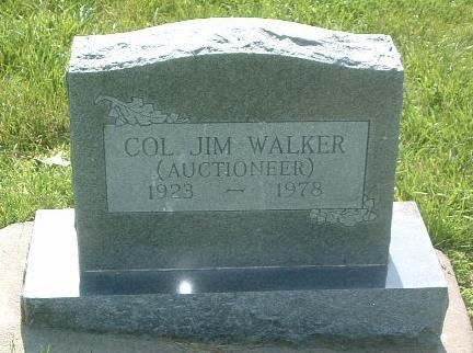 WALKER, JIM (COL) - Mills County, Iowa   JIM (COL) WALKER
