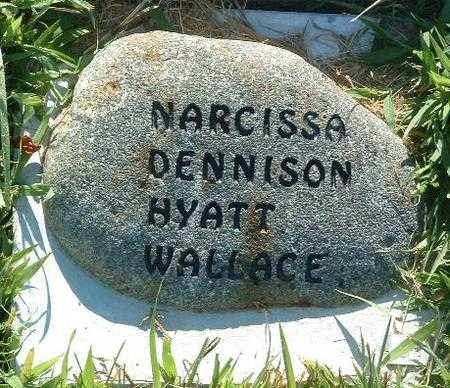 WALLACE, NARCISSA - Mills County, Iowa | NARCISSA WALLACE