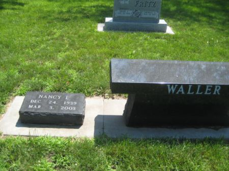 WALLER, NANCY L - Mills County, Iowa   NANCY L WALLER