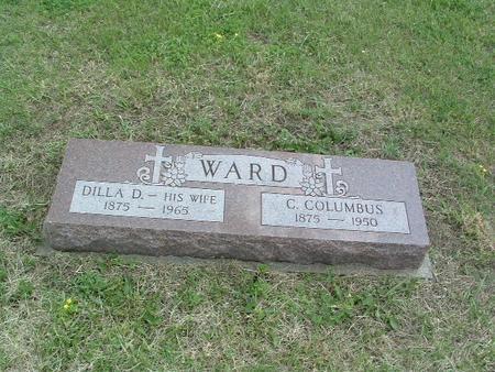 WARD, C. COLUMBUS - Mills County, Iowa | C. COLUMBUS WARD