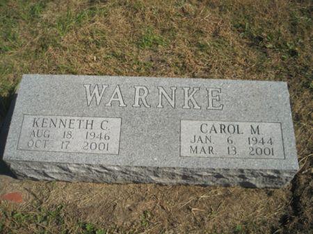 WARNKE, CAROL M. - Mills County, Iowa | CAROL M. WARNKE