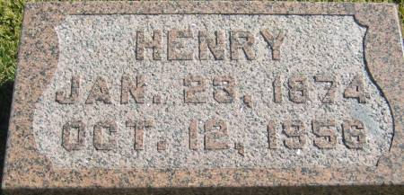 WASSERMAN, HENRY - Mills County, Iowa   HENRY WASSERMAN