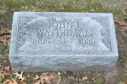 WATERMAN, JOHN L. - Mills County, Iowa | JOHN L. WATERMAN