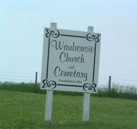 WAUBONSIE, CEMETERY - Mills County, Iowa | CEMETERY WAUBONSIE