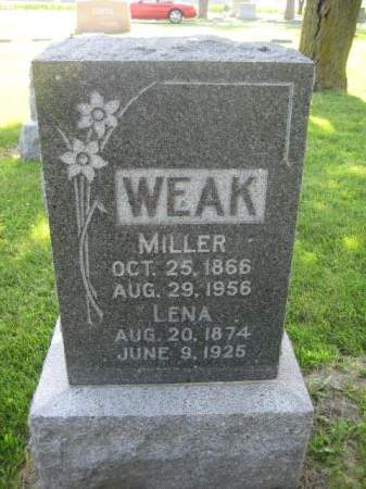 WEAK, MILLER - Mills County, Iowa | MILLER WEAK
