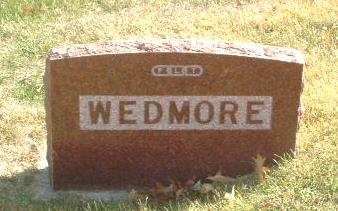 WEDMORE, FAMILY HEADSTONE - Mills County, Iowa | FAMILY HEADSTONE WEDMORE