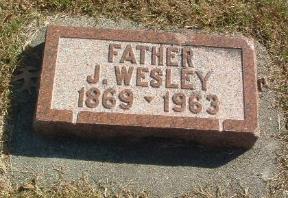 WEDMORE, J. WESLEY - Mills County, Iowa | J. WESLEY WEDMORE