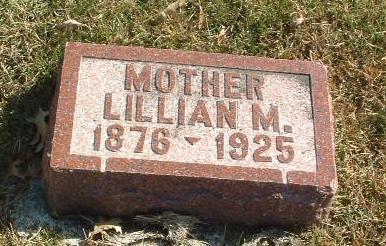 WEDMORE, LILLIAN M. - Mills County, Iowa | LILLIAN M. WEDMORE
