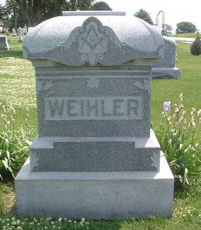 WEIHLER, HEADSTONE - Mills County, Iowa | HEADSTONE WEIHLER