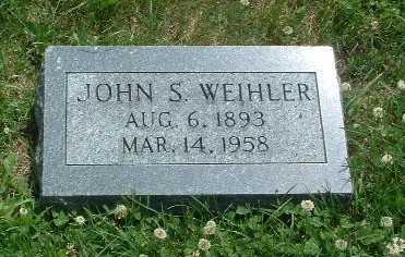 WEIHLER, JOHN S. - Mills County, Iowa | JOHN S. WEIHLER
