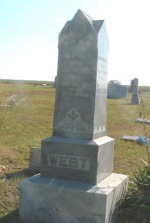 WEST, ANN E. - Mills County, Iowa | ANN E. WEST