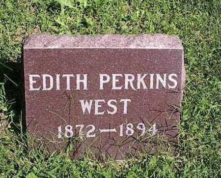 WEST, EDITH PERKINS - Mills County, Iowa | EDITH PERKINS WEST