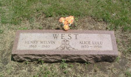 WEST, HENRY MELVIN - Mills County, Iowa | HENRY MELVIN WEST