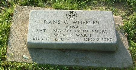 WHEELER, RANS C. - Mills County, Iowa | RANS C. WHEELER