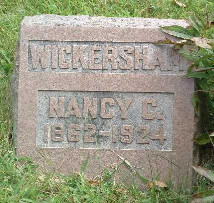 WICKERSHAM, NANCY C. - Mills County, Iowa | NANCY C. WICKERSHAM