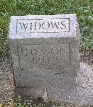 WIDOWS, INFANT SON - Mills County, Iowa | INFANT SON WIDOWS