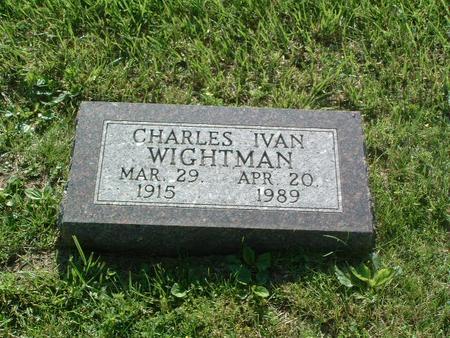 WIGHTMAN, CHARLES IVAN - Mills County, Iowa   CHARLES IVAN WIGHTMAN