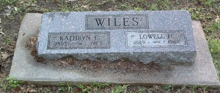 WILES, KATHRYN C. - Mills County, Iowa | KATHRYN C. WILES