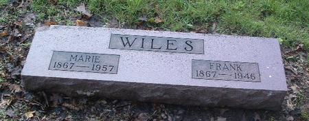 WILES, FRANK - Mills County, Iowa   FRANK WILES