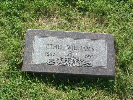 WILLIAMS, ETHEL - Mills County, Iowa | ETHEL WILLIAMS