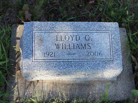 WILLIAMS, LLOYD G - Mills County, Iowa | LLOYD G WILLIAMS