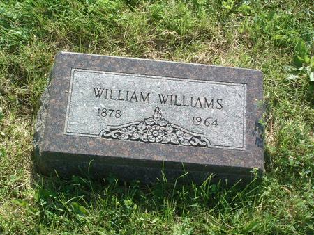 WILLIAMS, WILLIAM - Mills County, Iowa   WILLIAM WILLIAMS