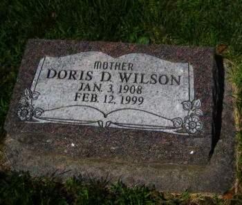 WILSON, DORIS D. - Mills County, Iowa | DORIS D. WILSON