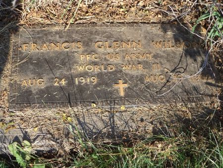 WILSON, FRANCIS GLENN - Mills County, Iowa | FRANCIS GLENN WILSON