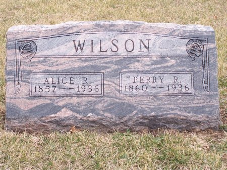 WILSON, PERRY R. - Mills County, Iowa | PERRY R. WILSON