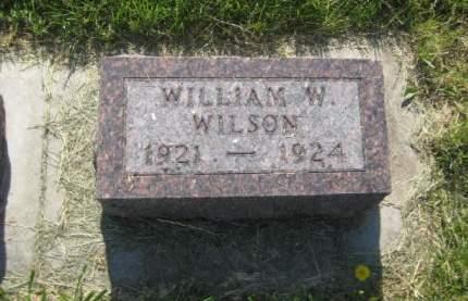 WILSON, WILLIAM W. - Mills County, Iowa | WILLIAM W. WILSON