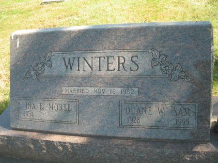 WINTERS, DUANE W. - Mills County, Iowa | DUANE W. WINTERS