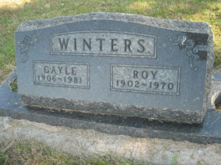 WINTERS, ROY - Mills County, Iowa | ROY WINTERS