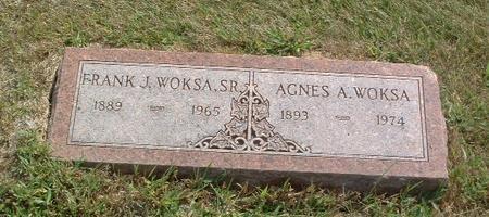WOKSA, AGNES A. - Mills County, Iowa | AGNES A. WOKSA