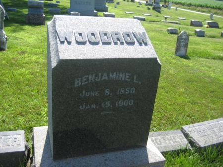 WOODROW, BENJAMINE L. - Mills County, Iowa   BENJAMINE L. WOODROW