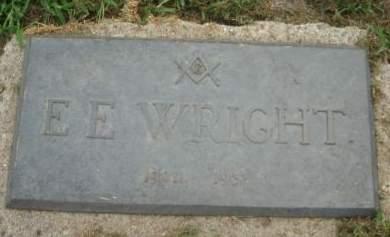 WRIGHT, E. E. - Mills County, Iowa   E. E. WRIGHT