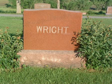 WRIGHT, FAMILY HEADSTONE - Mills County, Iowa | FAMILY HEADSTONE WRIGHT