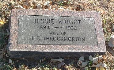 WRIGHT, JESSIE - Mills County, Iowa | JESSIE WRIGHT