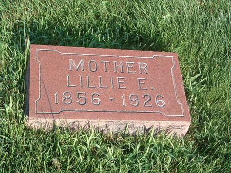 WRIGHT, LILLIE E. - Mills County, Iowa   LILLIE E. WRIGHT