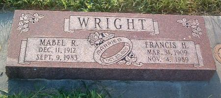 WRIGHT, MABEL R. - Mills County, Iowa | MABEL R. WRIGHT
