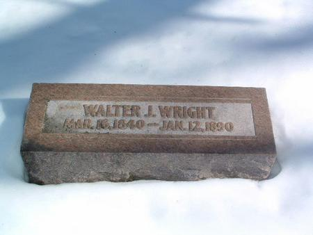 WRIGHT, WALTER J. - Mills County, Iowa | WALTER J. WRIGHT