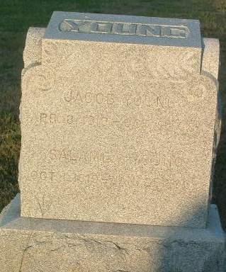 YOUNG, JACOB - Mills County, Iowa | JACOB YOUNG